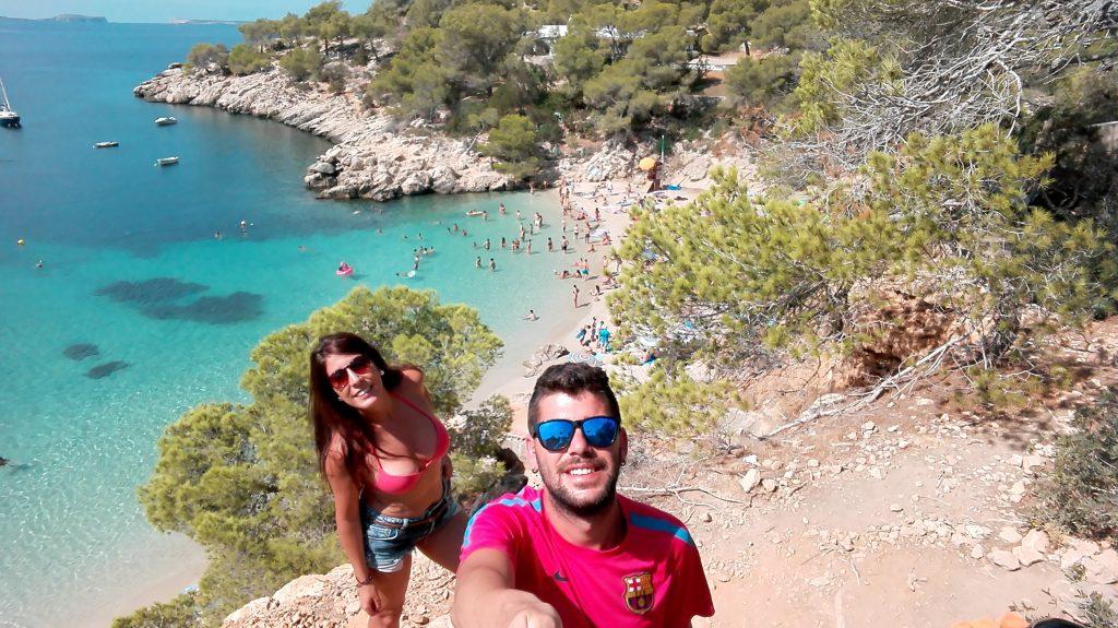 Cala Salada Ibiza Itinerario