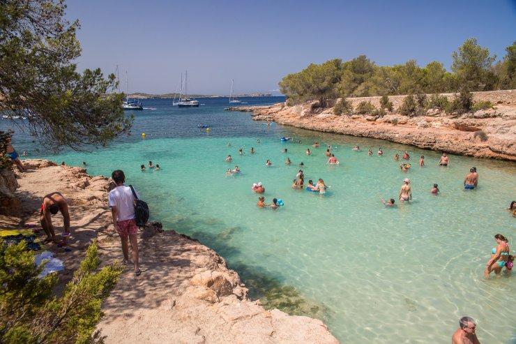 Cala gracio Ibiza Itinerario