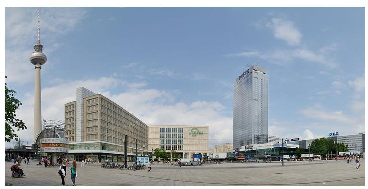 Alexander Platz Berlín