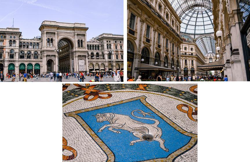 Galeria Vittorio Emmanuel Milan Que ver