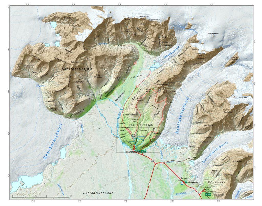 Glaciar Islandia Plano