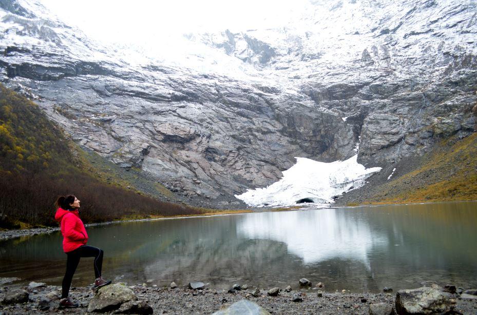 Glaciar Boyabreen Noruega que ver