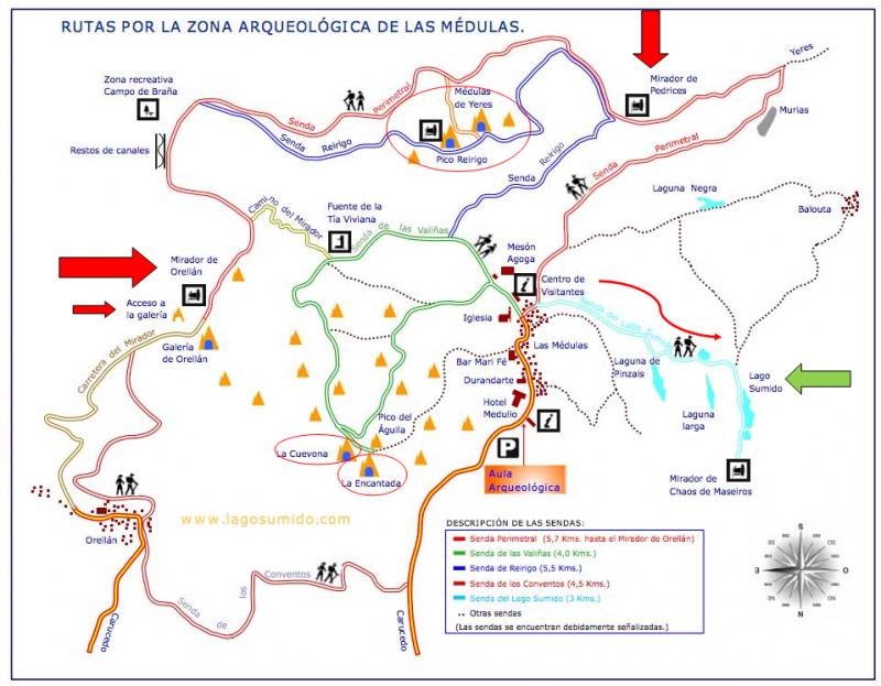Itinerario Las Médulas leon