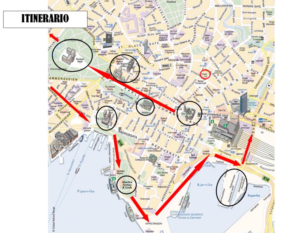 Itinerario Oslo