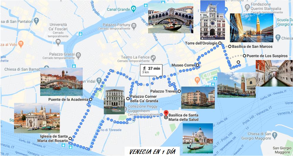 Itinerario Venecia que ver