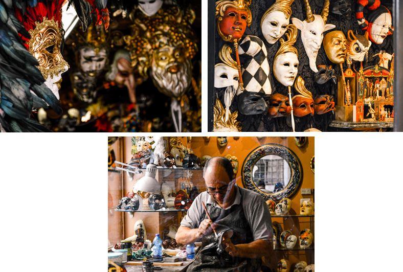 Mascaras Venecia que ver