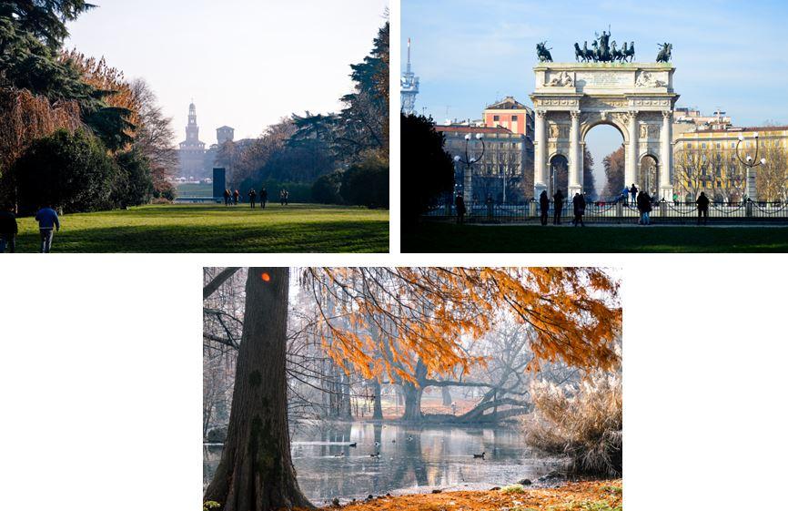 Parque Sempione Milan que ver