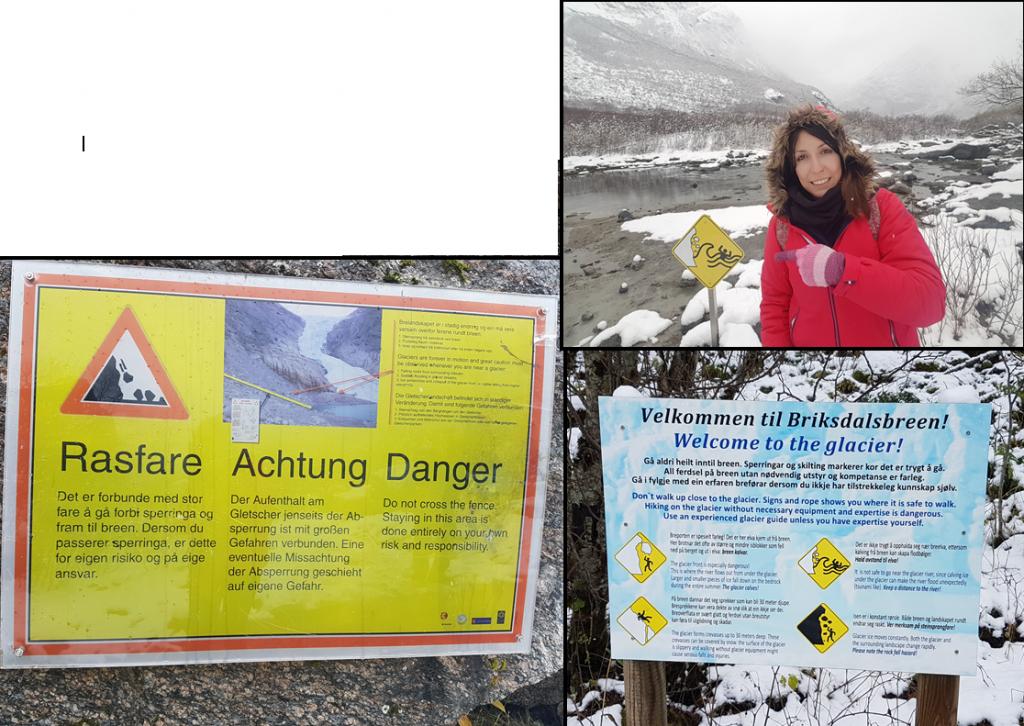 Ruta al Glaciar Briksdalbreen 5