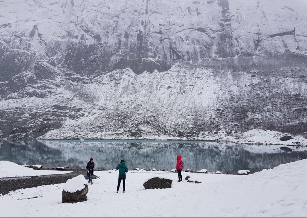 Ruta al Glaciar Briksdalbreen Noruega
