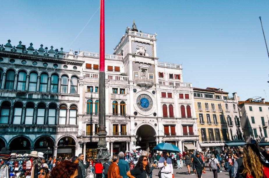 Torre Urologio que ver en Venecia