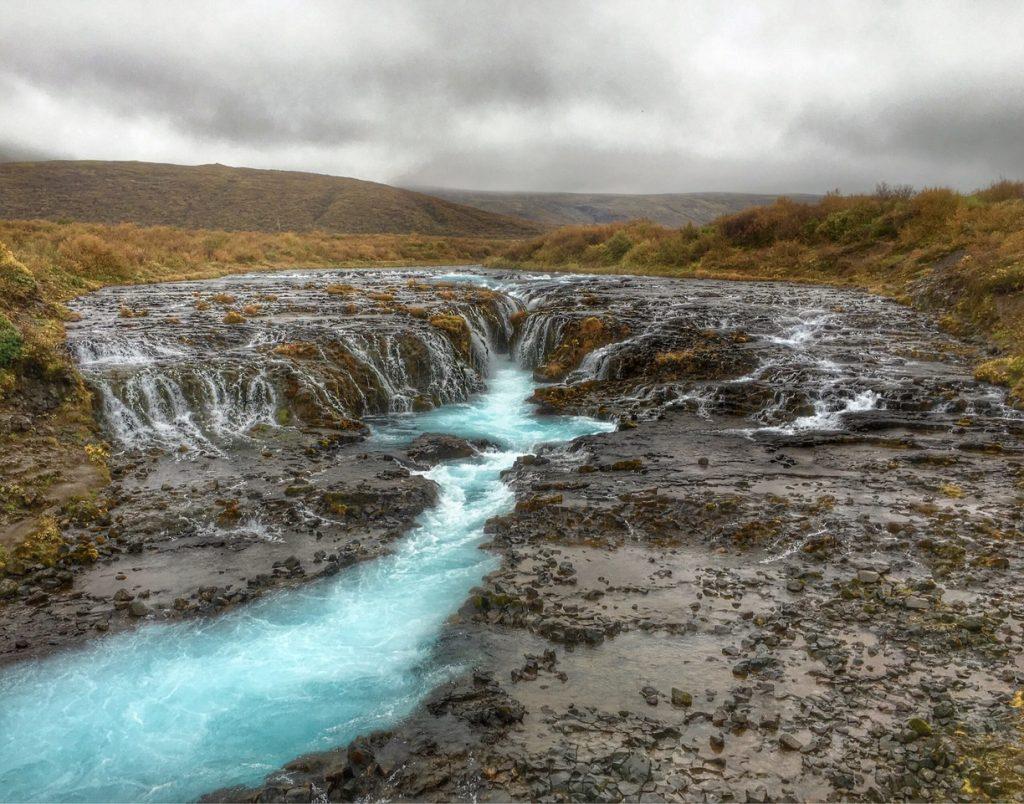 Bruarfoss Islandia Circulo Dorado