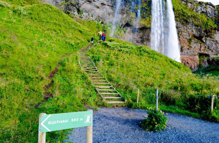 Cascada Gljúfurárfoss Islandia