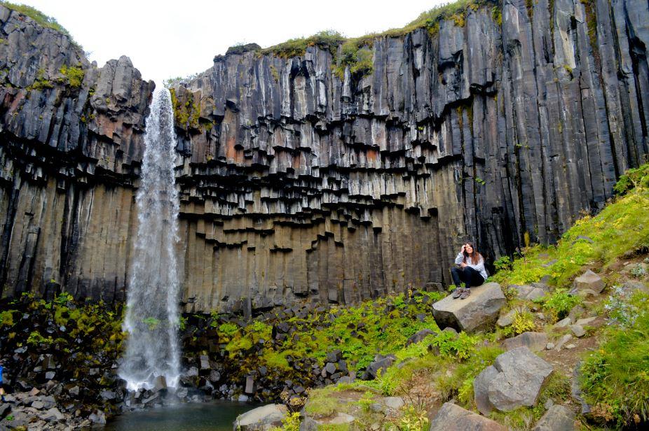 Cascada Svartifoss