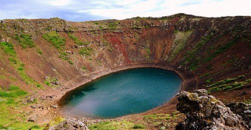 Crater Kerid Islandia