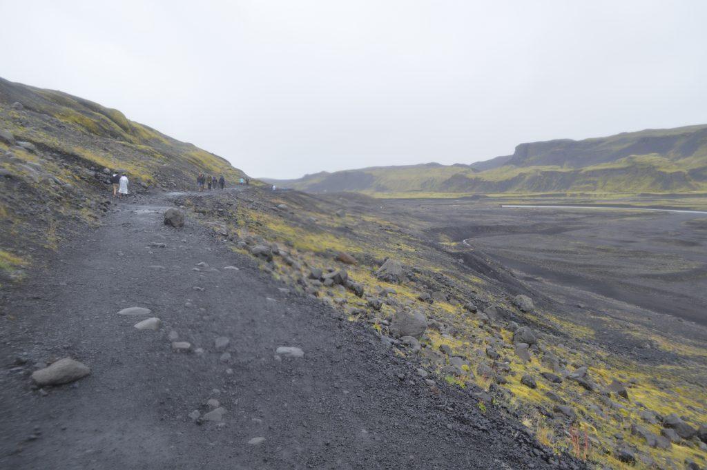 Glaciar Mysdalsjökull - lengua Sólheimajokull