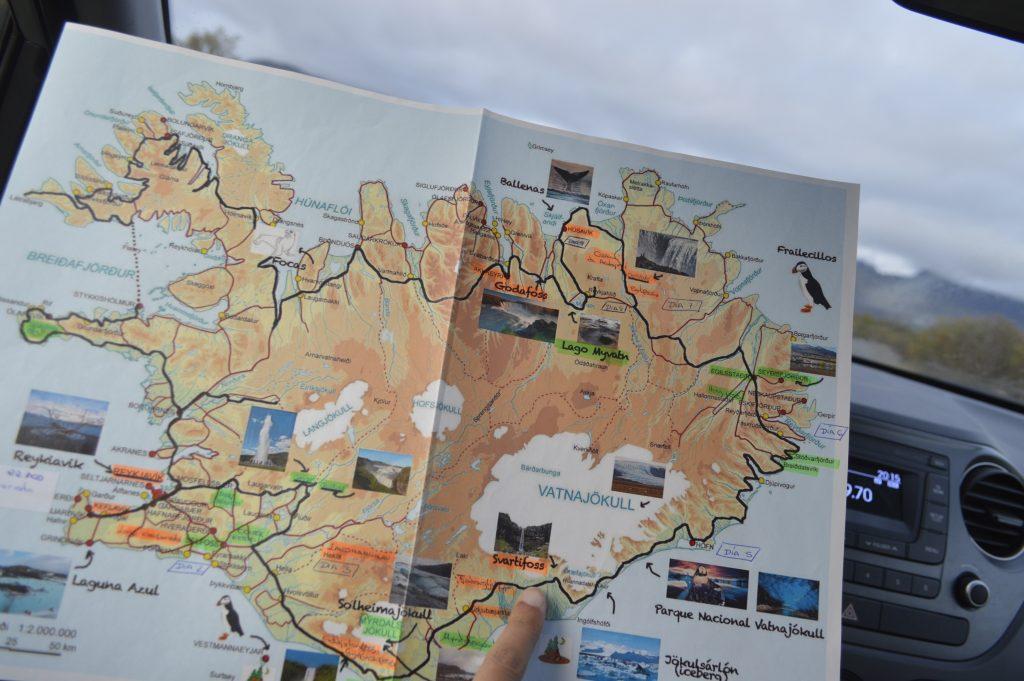 Preparativos viaje Islandia 10 dias