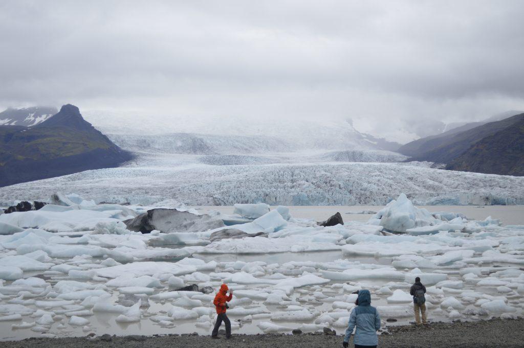 Laguna Glaciar FjallsárlónIslandia