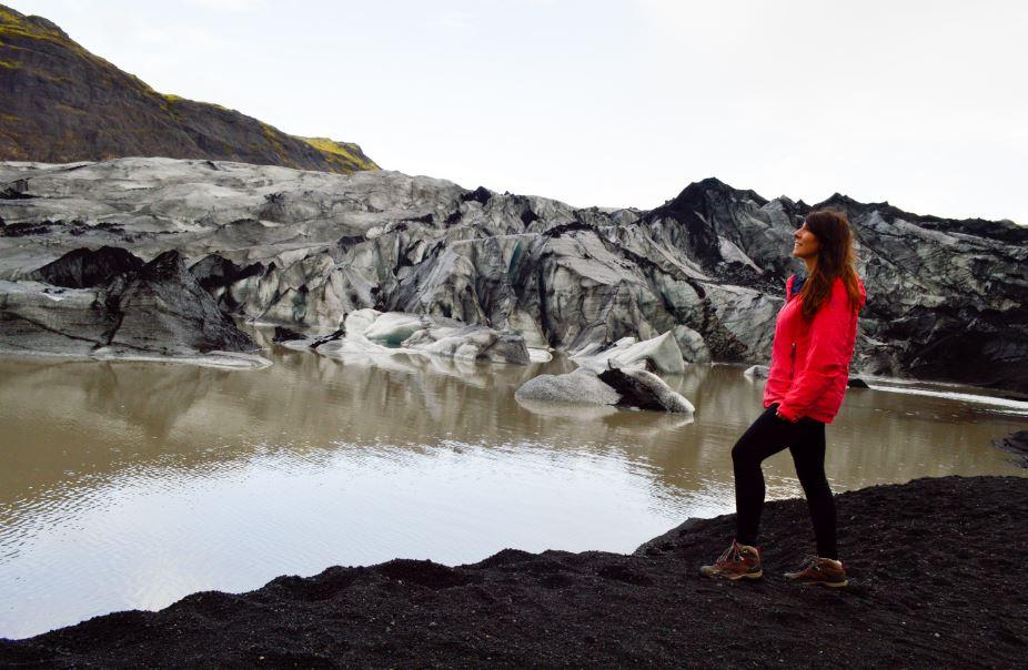 Glaciar Myrdalsjokul Islandia