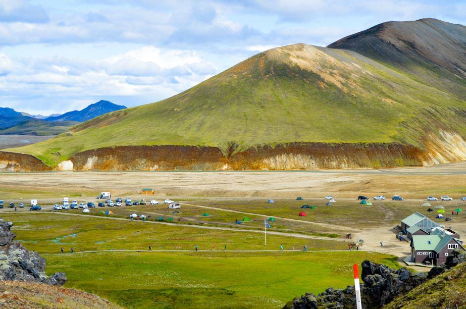 Landmannalaugar campamento base