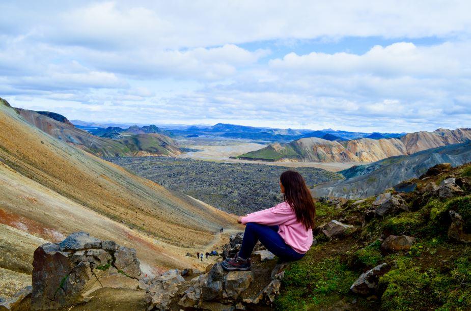 Landmannalaugar ruta Islandia
