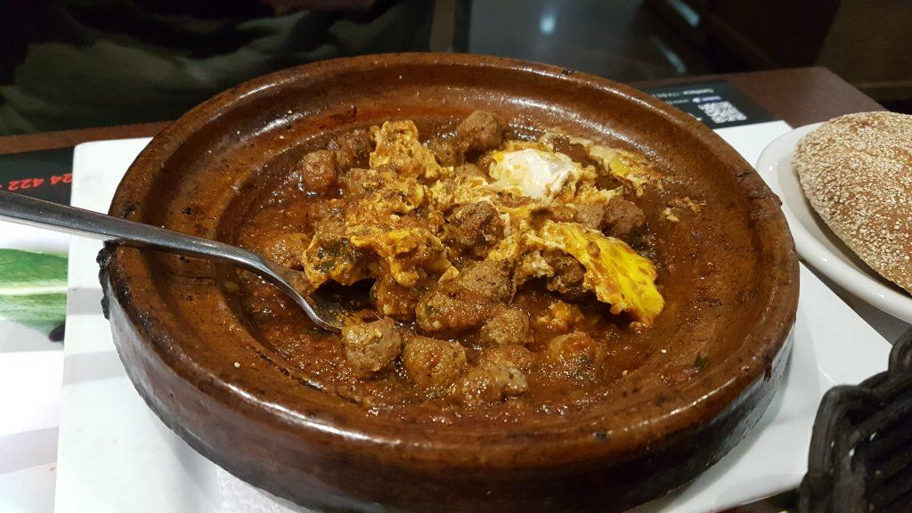 Kefta comida marroqui