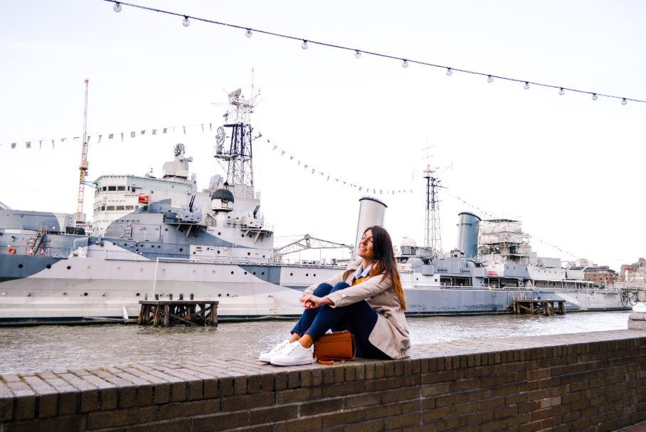 Belfast HMS Londres que ver