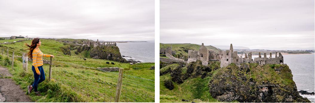 Castillo Dunluce Irlanda