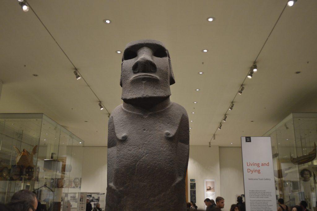 British Museum Moai Isla Pascua Londres