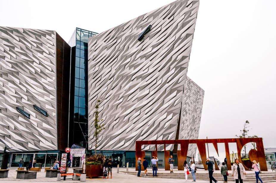 Museo Ttanic Belfast que ver
