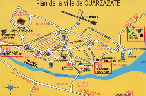 Plano Ouarzazate