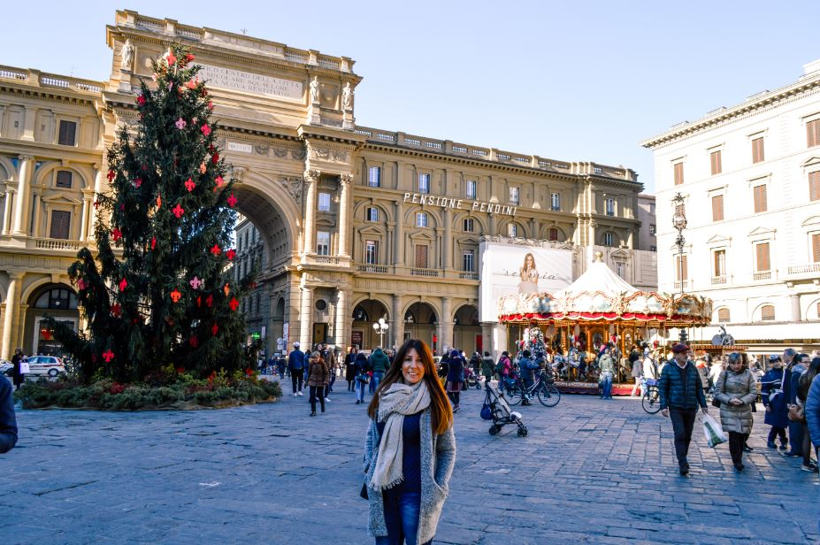 Plaza de la Republica Florencia Que ver