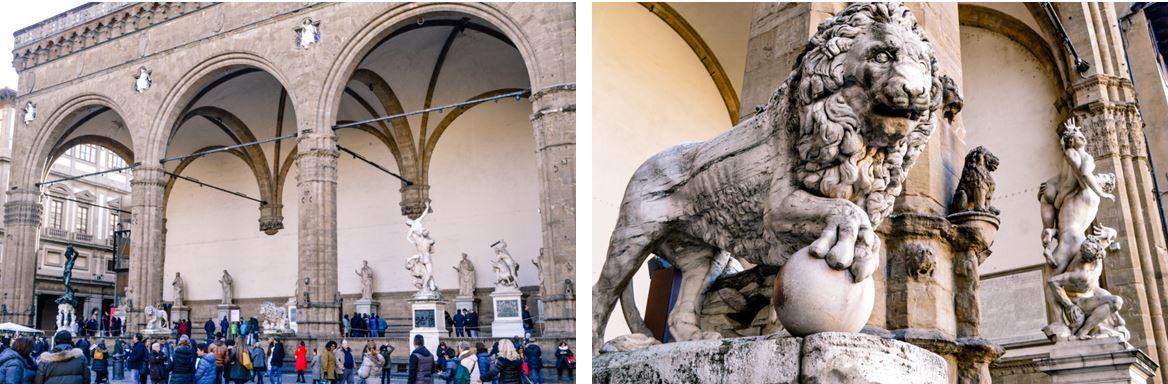 Plaza de la Signoria Florencia