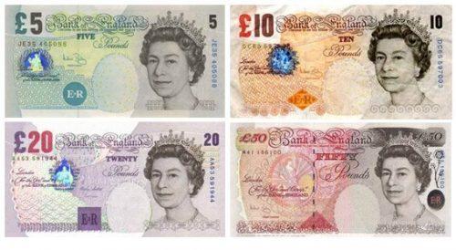 dinero Londres libra esterlina