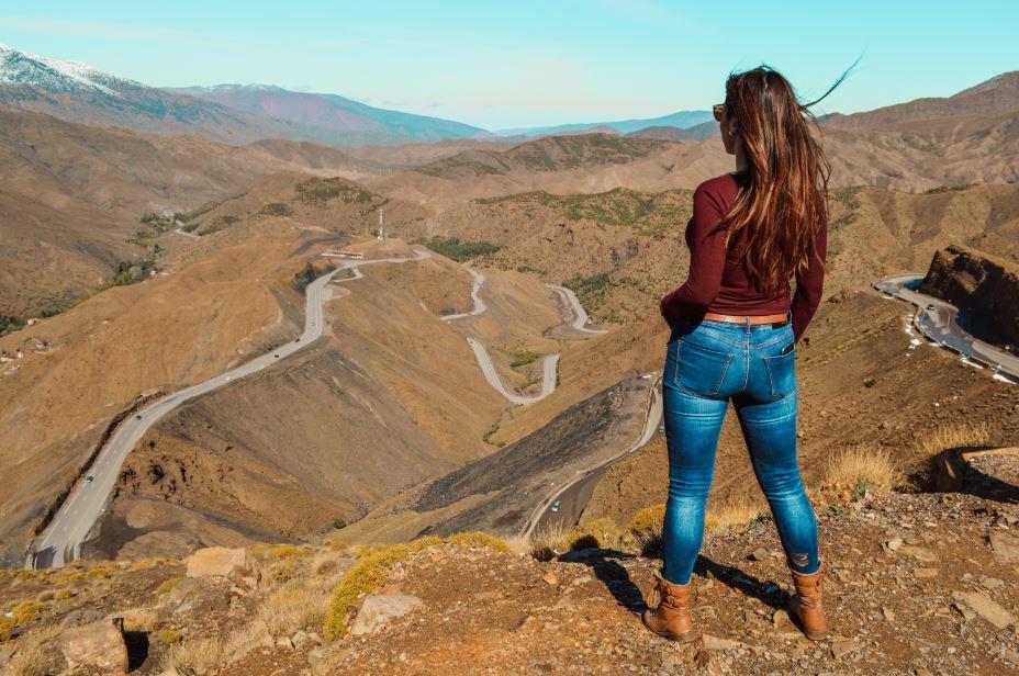 Carretera alto Atlas Marruecos