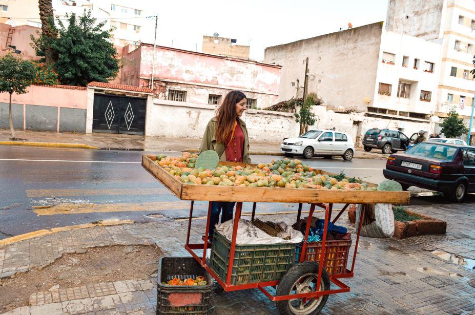 Casablanca calle higos chumbos