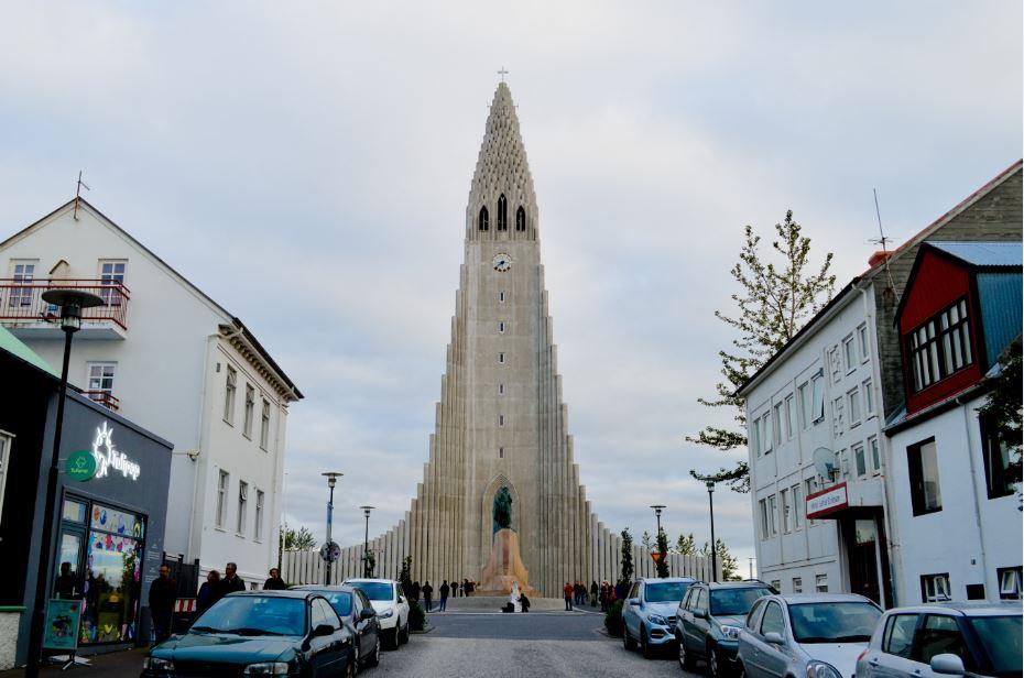 Catedral Reykiavik Islandia