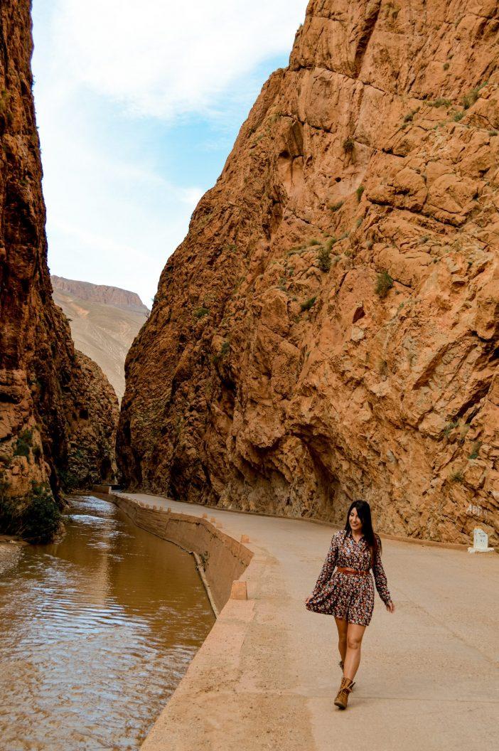 Desfiladero Dades Marruecos