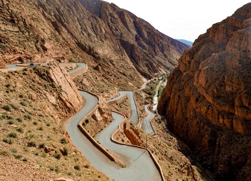 Garganta dades Marruecos