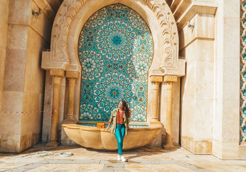 Mezquita Hassan Casablanca