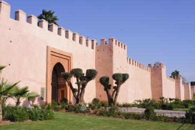Muralla Medina Marrakech