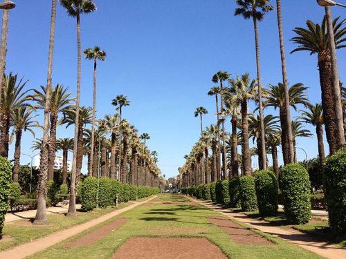 Parque de la Liga arabe Casablanca