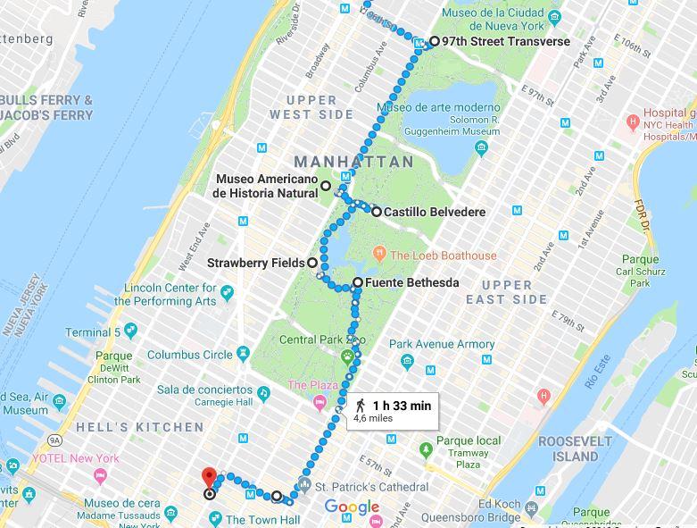 Itinerario dia 3 NY