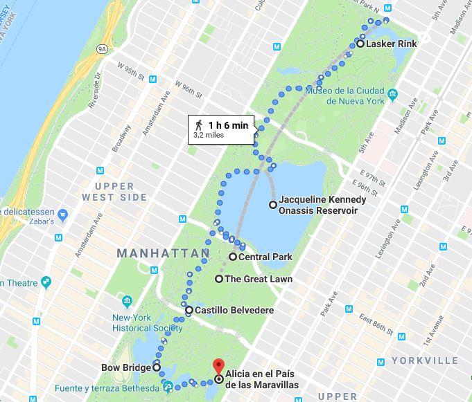 Central Park dia 1 Nueva York