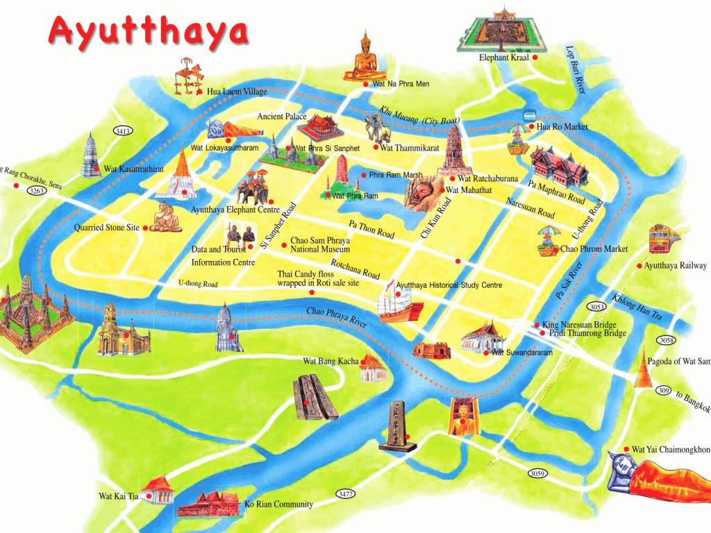 Plano Ayutthata