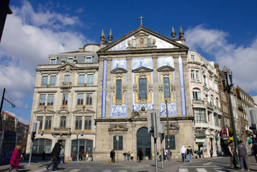 Iglesia de San Antonio Congregados Oporto