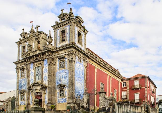 Iglesia de San Ildefonso Oporto