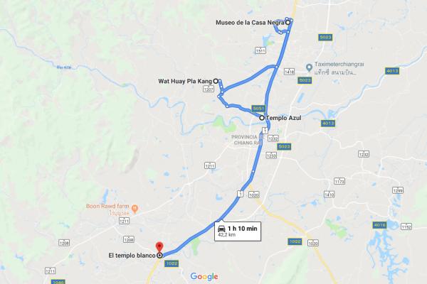 Itinerario Chiang Rai