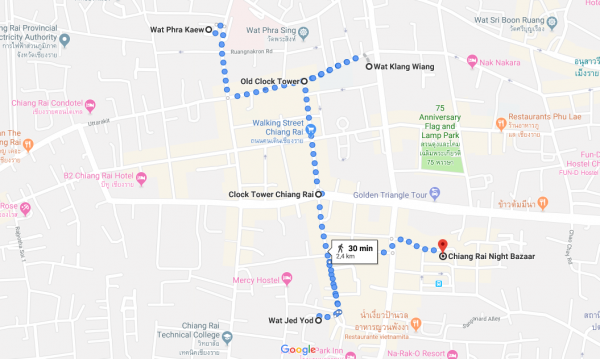 Itinerario Chiang Rai Tailandia