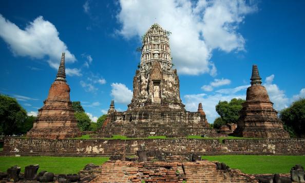 Wat Rachanaburana Tailandia