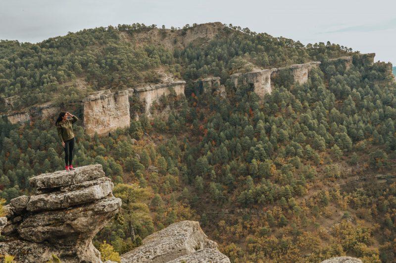 Ruta del Escalerón a la Raya - Cuenca